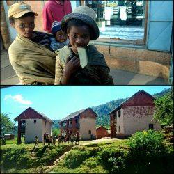 Antsirabé y Ambrosita en Madagascar
