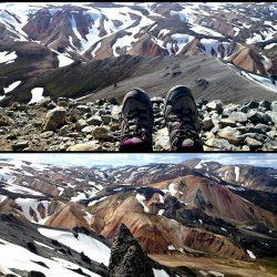 Islandia. Trekking por Landmannalaugar