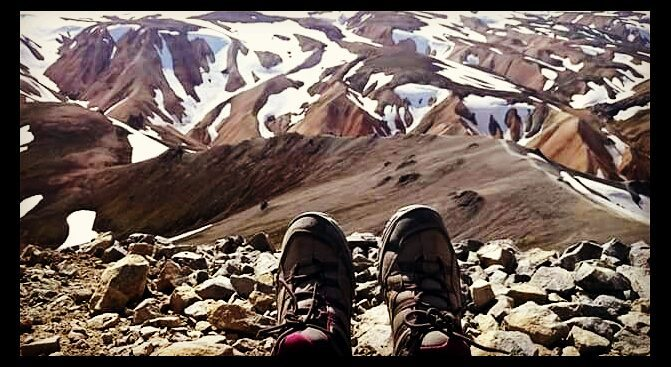 Trekking por Landmannalaugar en Islandia