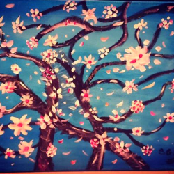 Pintar la Sakura