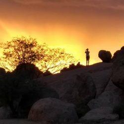 Damaraland, las montañas de Namibia