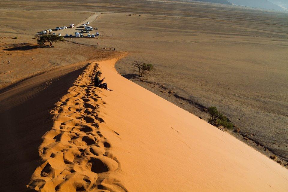 Desierto del Namib Naukluft en Namibia
