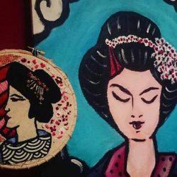 Arte inspirado en Japón; geishas, cultura kawai & Hello Kitty