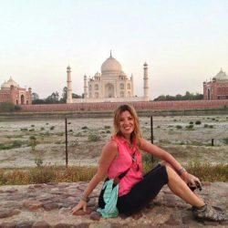 India. Uttar Pradesh y Taj Mahal