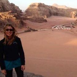 El desierto rosa de Wadi Rum