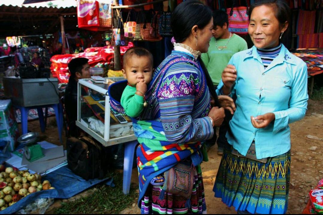 Sapa,montañas repletas de arrozales y morada de minorías étnicas