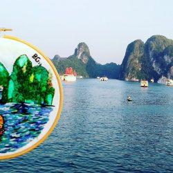 Mis bordados en Vietnam