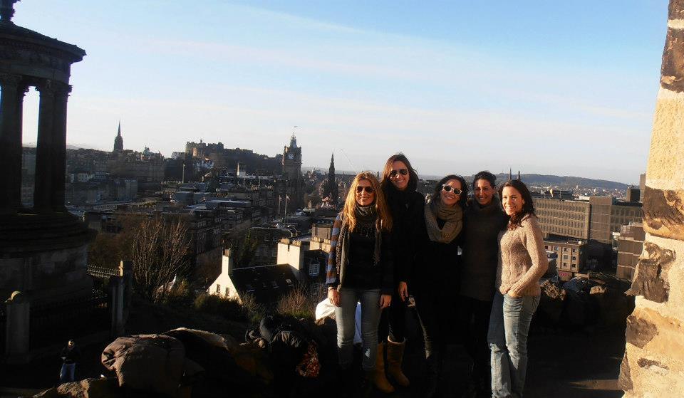 Fin de semana navideño en Edimburgo