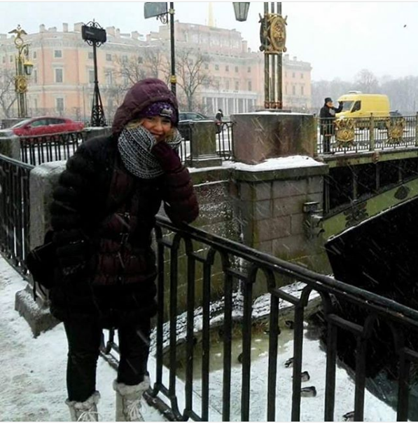 Bajo cero en San Petersburgo