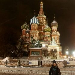 La Plaza Roja y el Kremlin en Moscú