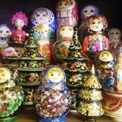 De compras por Moscú