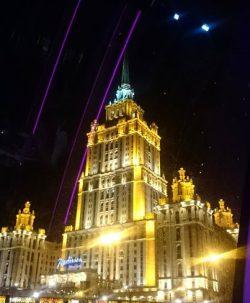 Moscú desde el río & Convento de Novodevichy