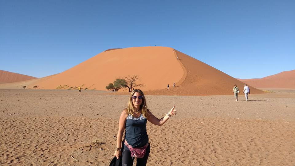 Sobre mí Barbiegirltravels en Namibia