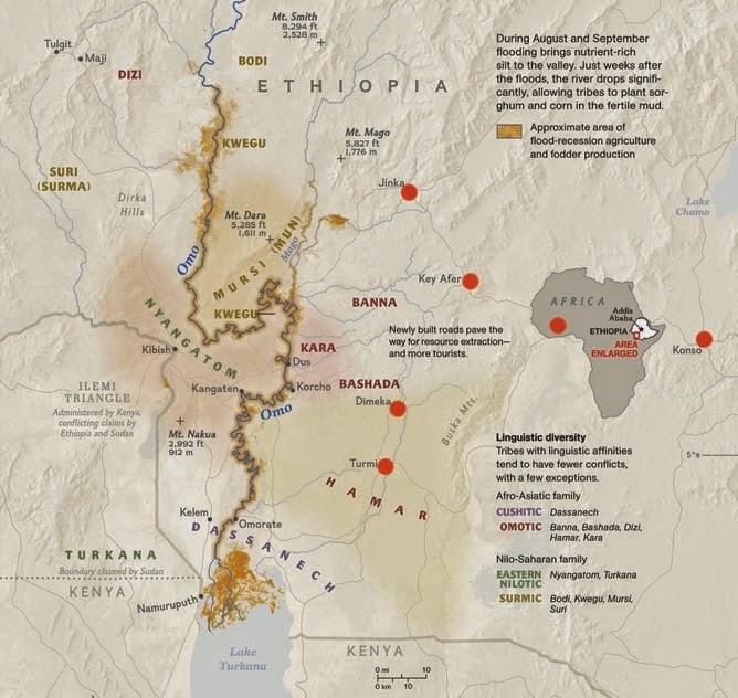 Etnias del Valle del Omo: los Hamer