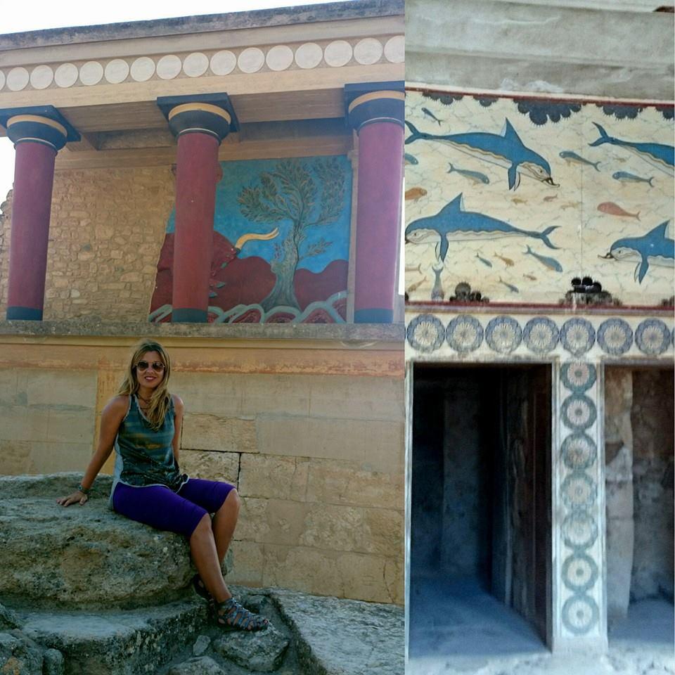 una semana isla de creta Knossos