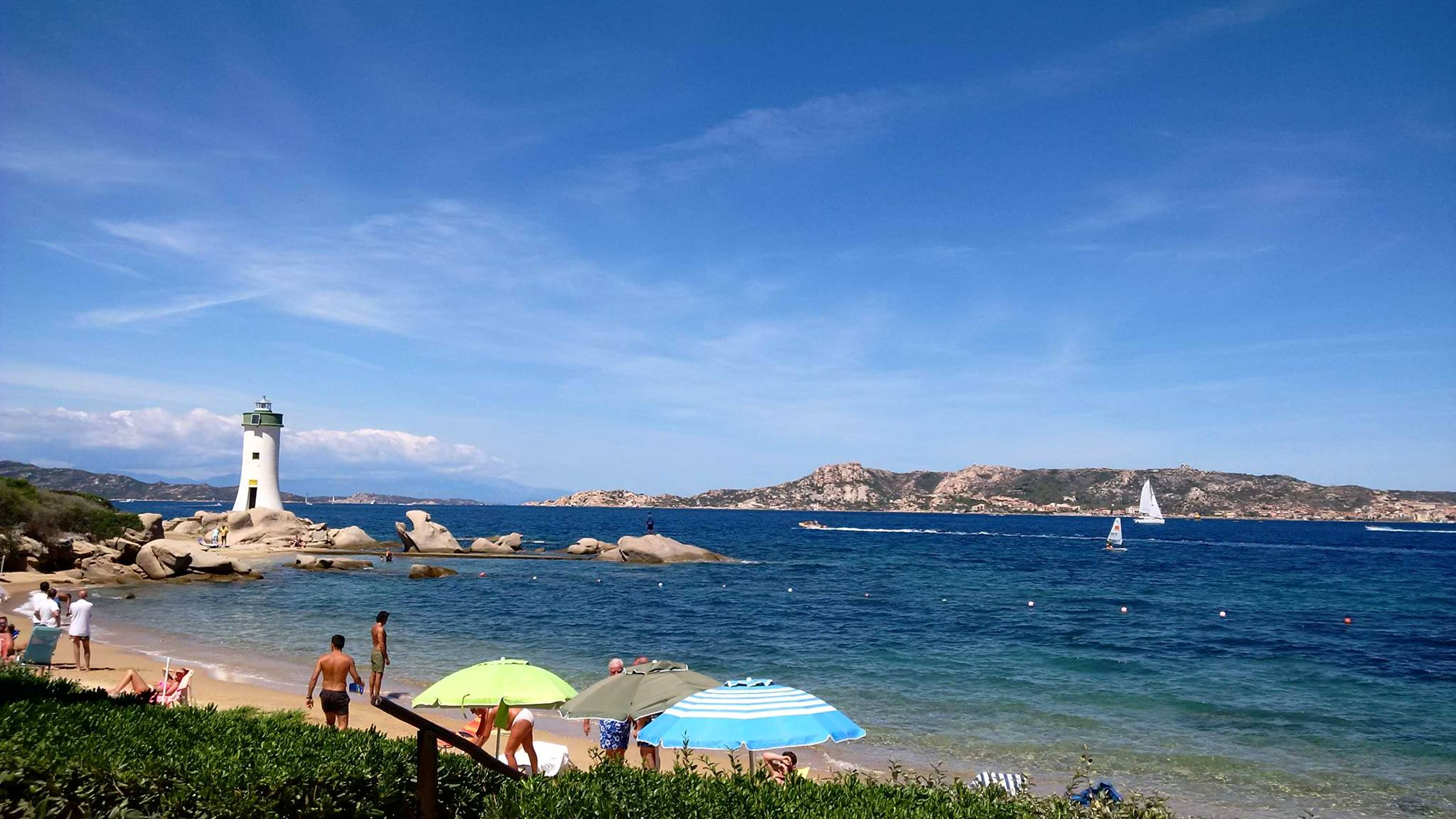 La costa esmeralda en Cerdeña