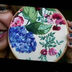 Puntadas de Bordado para flores (1ª parte)