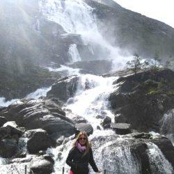 Ruta de las cascadas del Fiordo Akra