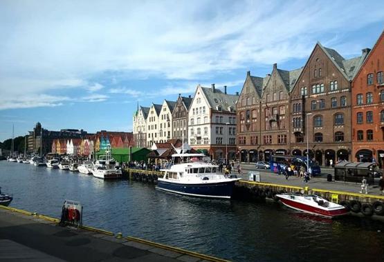 Bergen, la capital de los fiordos