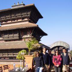Aterrizando en Katmandú, capital de Nepal