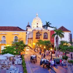 La ciudad vieja de Cartagena de Indias