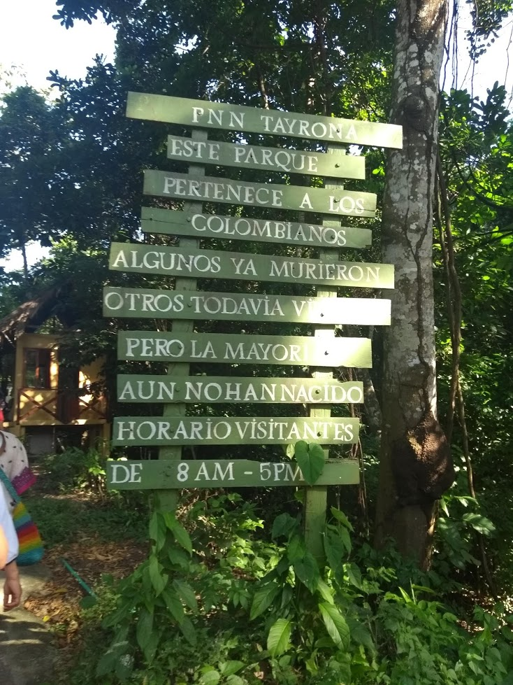 El Parque Tayrona y Santa Marta