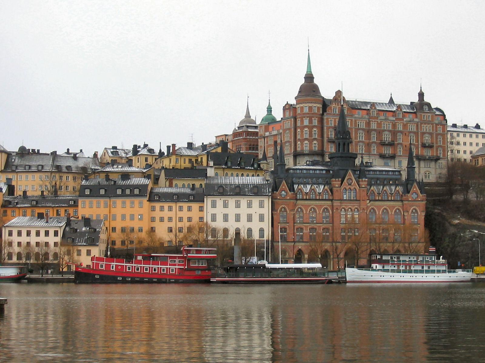 Sofo barrio bohemio de Estocolmo