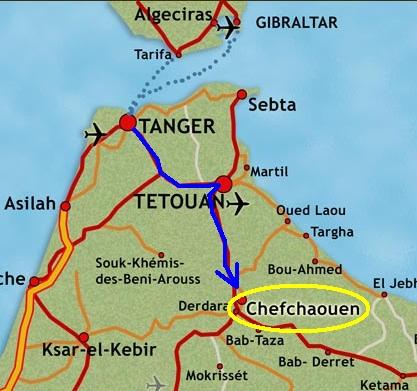 Chaouen, la perla azul de Marruecos