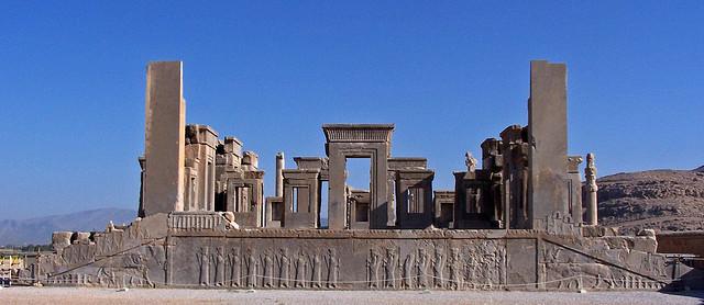 itinerario por irán persépolis