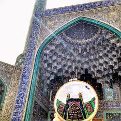 Mis bordados en Irán