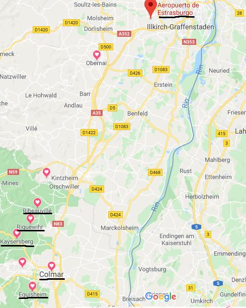 Viajar a la Alsacia en Navidad