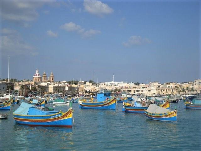 Marsaxlokk, el pueblo más pintoresco de Malta