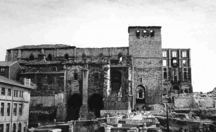 Ruta del Incendio de 1941 en Santander