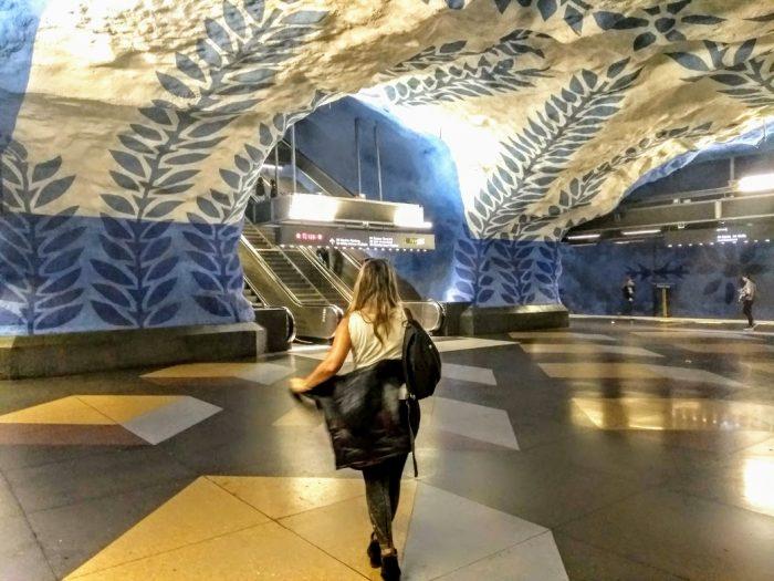 Las Estaciones más bonitas del Metro de Estocolmo