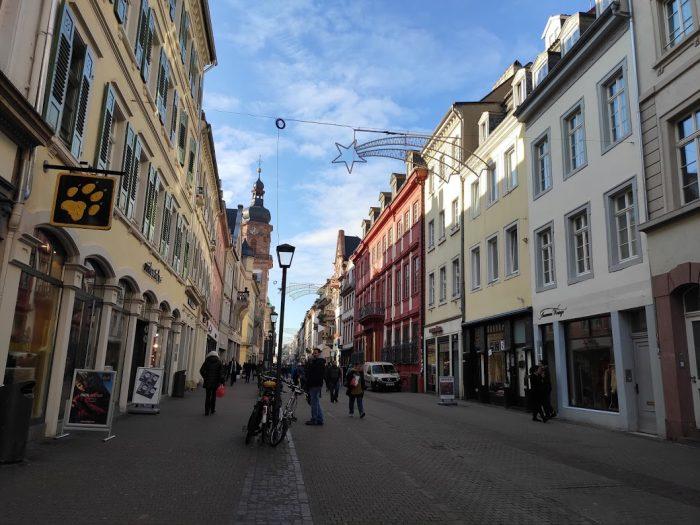 La romántica Heidelberg en Alemania