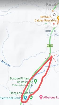 Paseo otoñal por el Bosque Finlandés de Rascafría