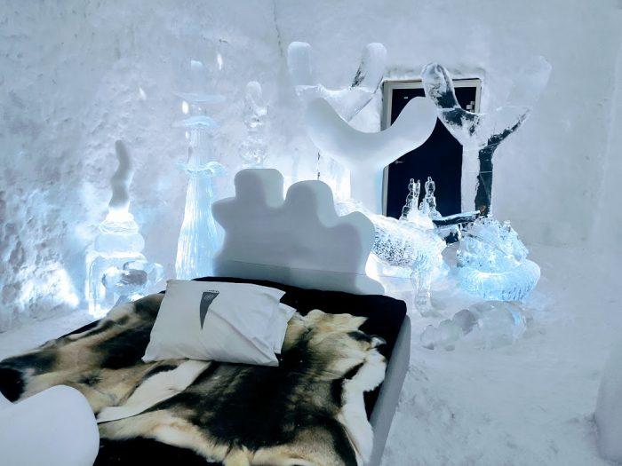 Icehotel 365, el hotel de hielo en Laponia sueca