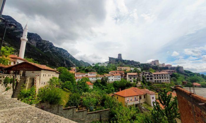 Kruje, la ciudad albanesa de Skanderbeg