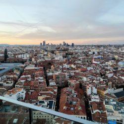 Azoteas espectaculares de Madrid al cielo