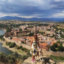 Ruta al mirador de Buitrago de Lozoya